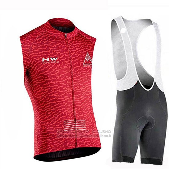 2019 Gilet Antivento Northwave Rosso