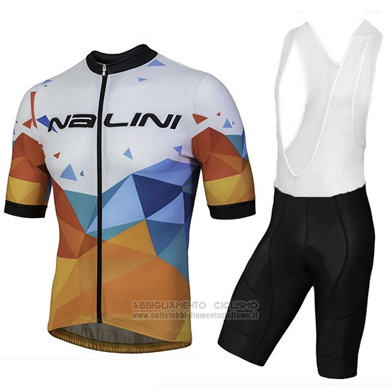 NALINI BASE ciclismo a maniche corte maglia Zincite Nero